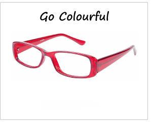 colourful eyeglasses